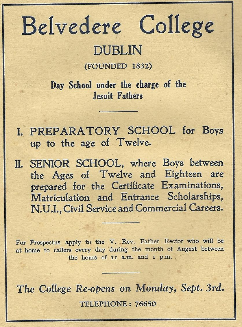 Belvedere College Dublin 118