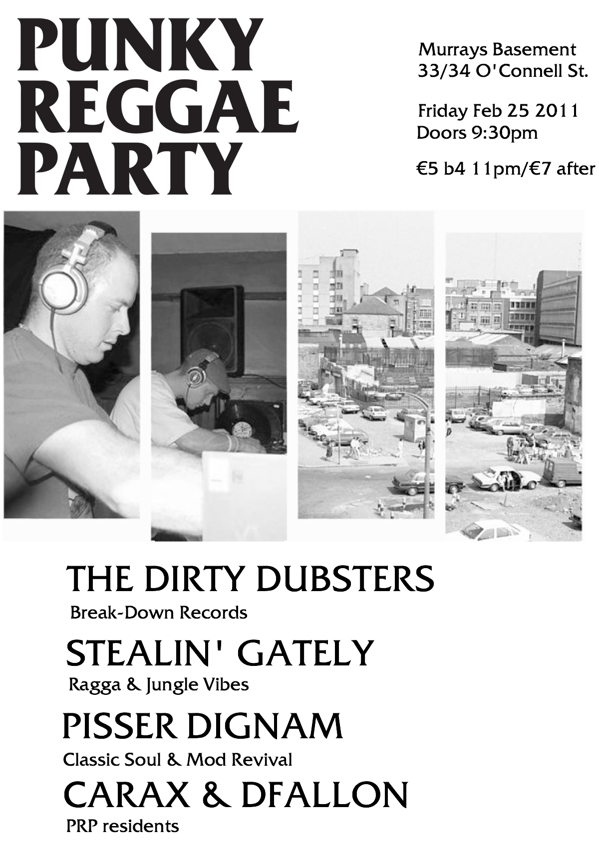 Punky Reggae Party Vol 9 This Friday Come Here To Me