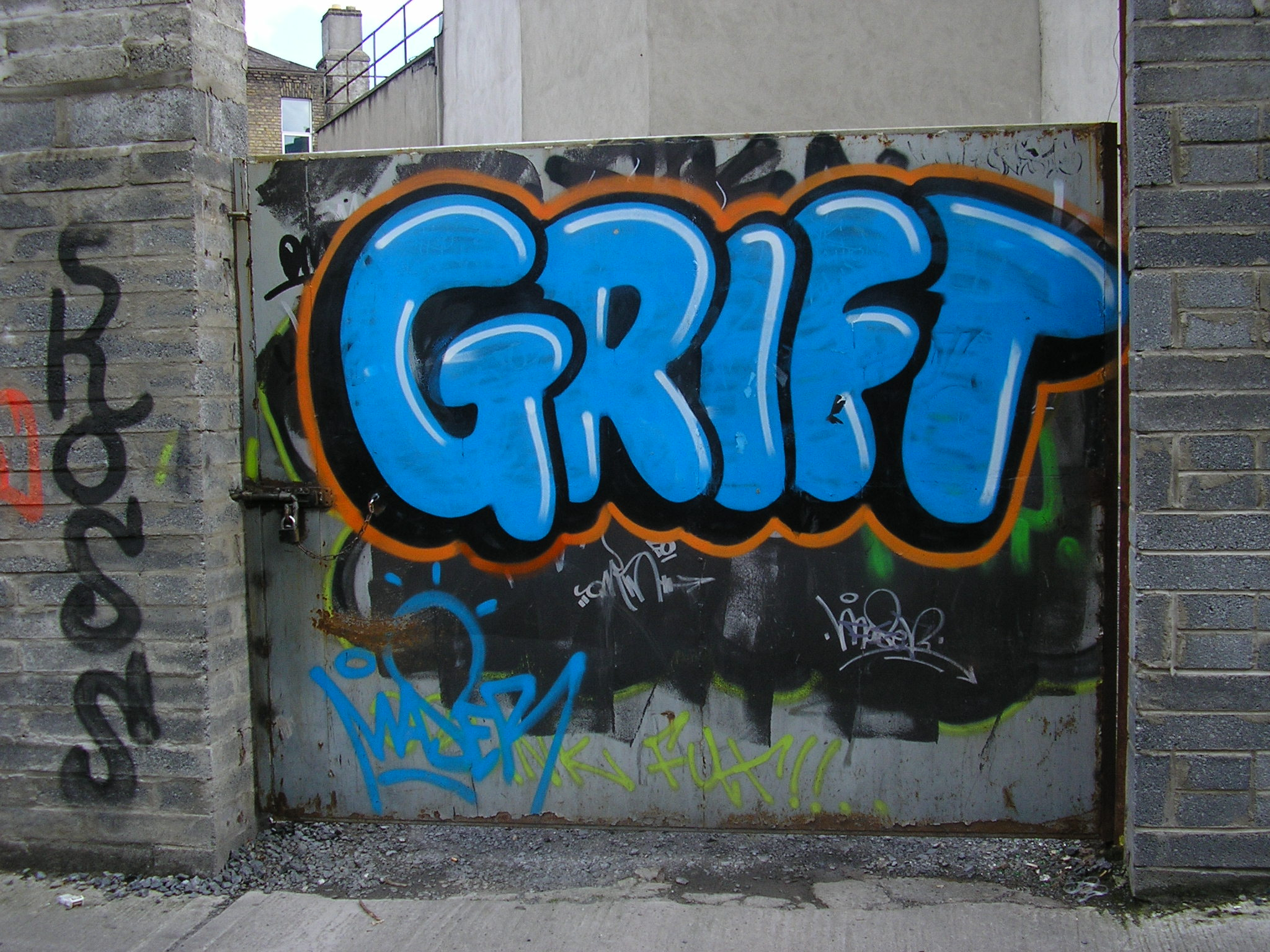 2. GRIFT; Dublin Graff ('05 – '07) | Come Here To Me!