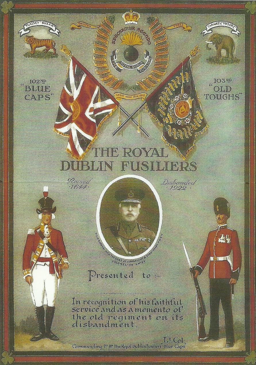 u2018the royal dublin fusiliers u2019