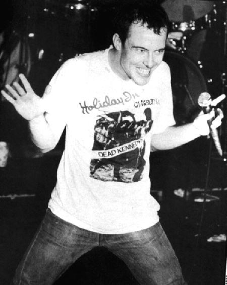 Jello Biafra at the Button Factory.