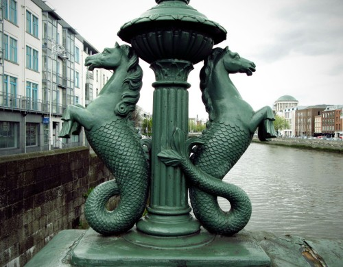 The Seahorses of Grattan Bridge. (Ci.)