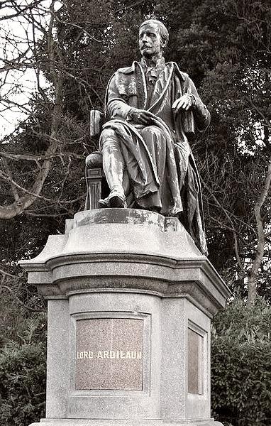 statues of dublin  sir arthur edward guinness  st  stephen