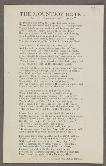 Dominic Behan Peelers and Prisoners