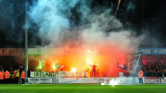 shamrock rovers away to sligo