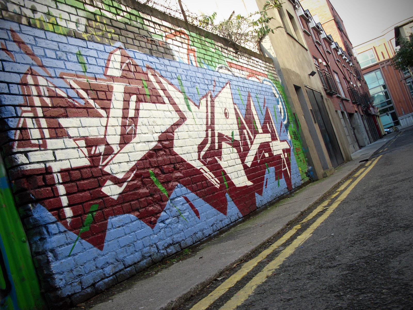 Graffiti wall dublin -  More