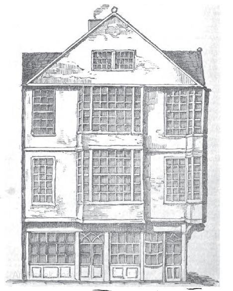 Dublin's last remaining cage work house. Published in the Dublin Penny Journal, 1813. Credit - archiseek.com.