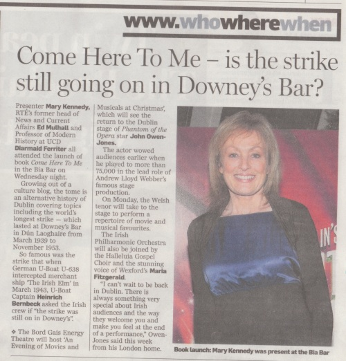 The Irish Independent, 15 December 2012