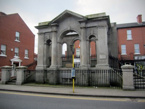 The Portico of the first Coombe Lying-in (Maternity) Hospital