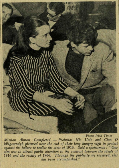 Image from front page of Trinity News (April 21st 1966)