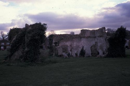 Another view from 1992 of the ruins.