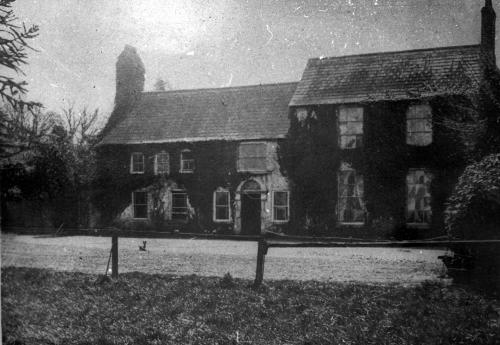 The Priory as it would have looked from the 1790s to the 1920s. Pictured in 1903. Taken from Footprints of Emmet by J.J. Reynolds (1903).