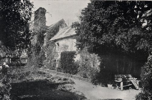 View of the beautiful garden in 1903.