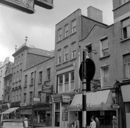 The Coffee Inn from 1967.  Dublin City Photographic Collection.