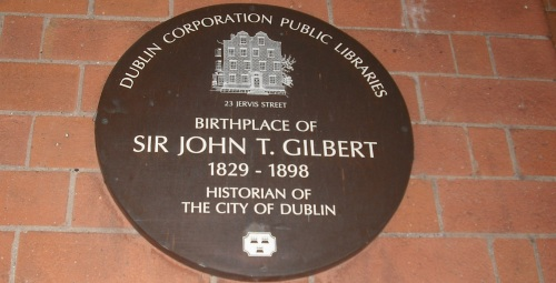 J.T Gilbert plaque