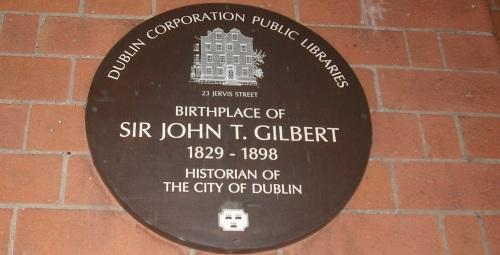 J.T Gilbert plaque