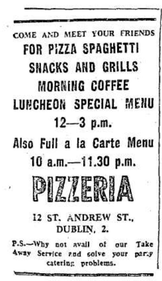 Pizzeria 1972 Herald (12 July)