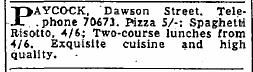 The Irish Press,  Jan 14, 1965.