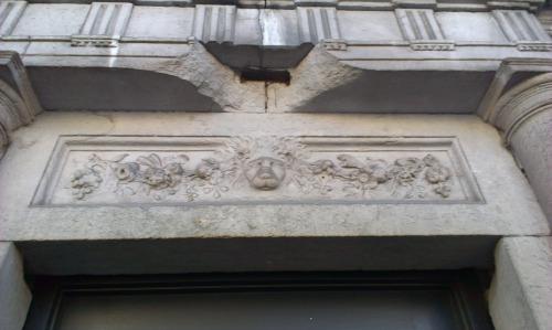 Detail above the door no.42