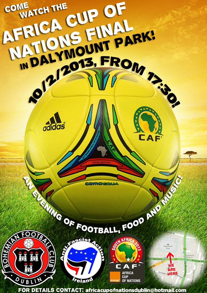 Africa Cup Of Nations Final Dalymount Park Sunday 10
