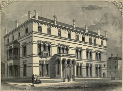 Kildare Street Club in 1860. Credit - http://archiseek.com