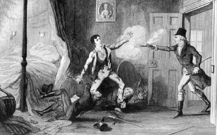 The capture of Lord Edward Fitzgerald, before he was taken to Dublin Castle.
