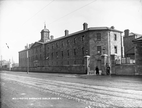 Wellington Barracks on the South Circular Road c. 1900. Credit - National Archives of Ireland
