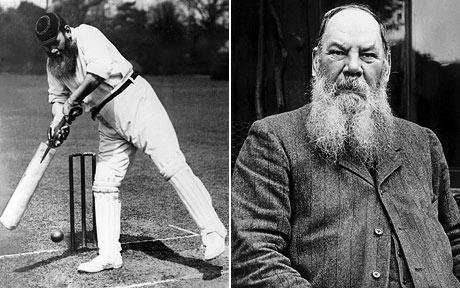 WG Grace (Credit - Telegraph)