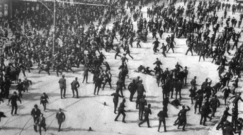 Bloody Sunday, 1913.