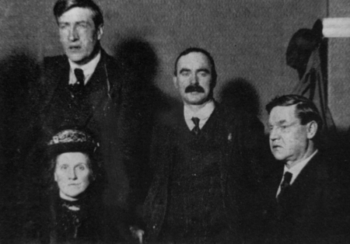 Another meeting in England, this time in Liverpool, saw Big Bill share a platform with both Jim Larkin and James Connolly.