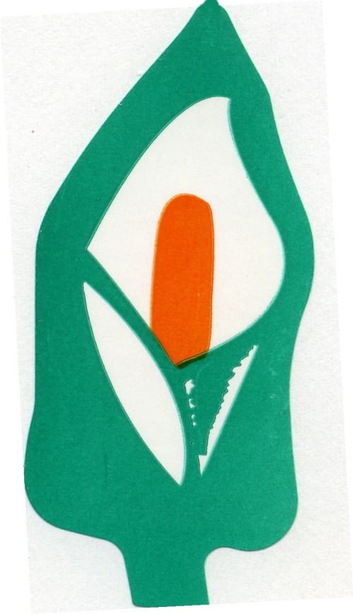 A modern variation of the Easter Lily, a symbol first displayed by republicans in 1926.