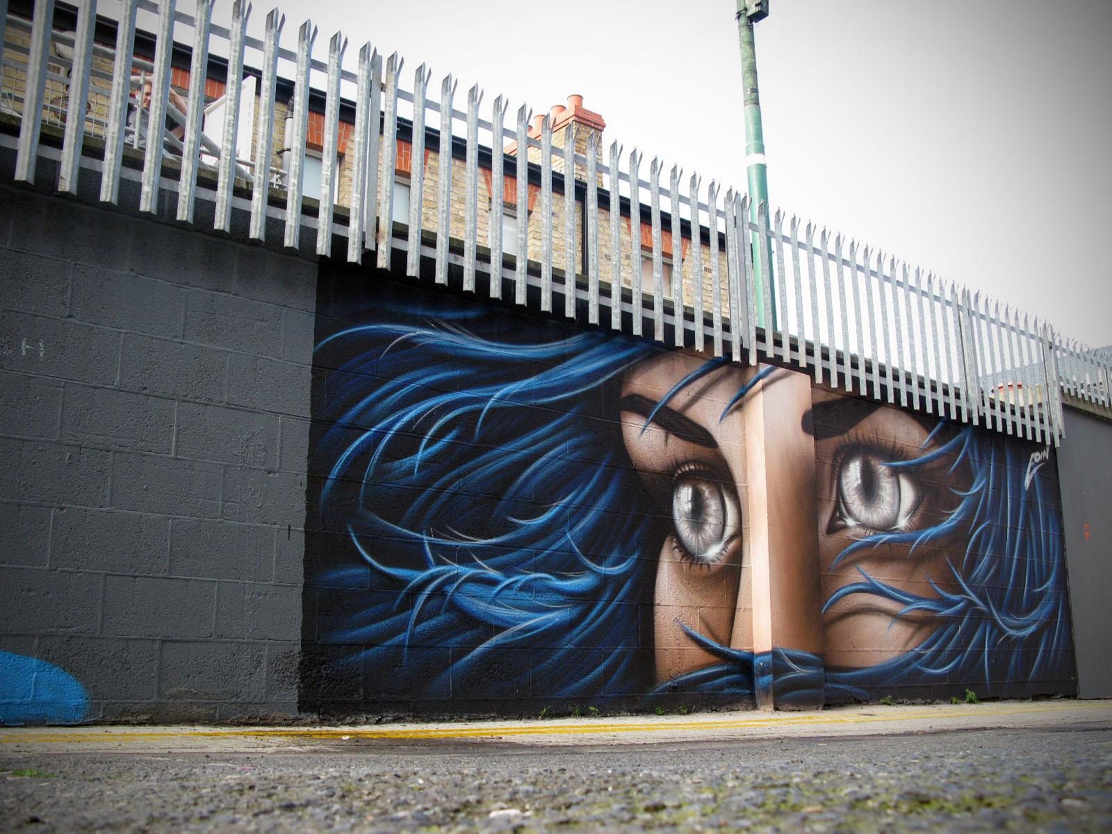 Graffiti wall dublin - 026