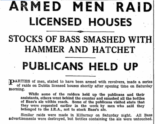 Irish Press. 28 August 1933.