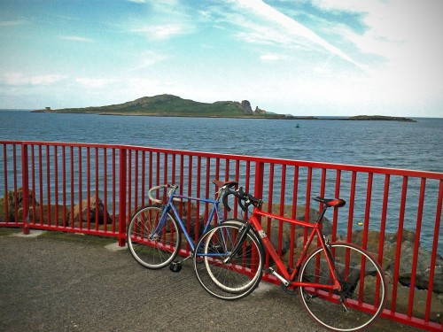 Bicycles enjoying a beautiful day in Howth (Image by Ciaran)