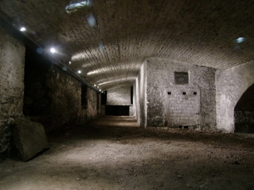 Christ Church crypt. Credit - http://kieranmccarthy.ie