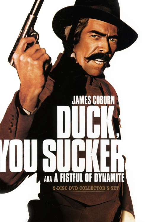 'Duck, You Sucker!' - The cover for a recent DVD special edition of the 1971 film.