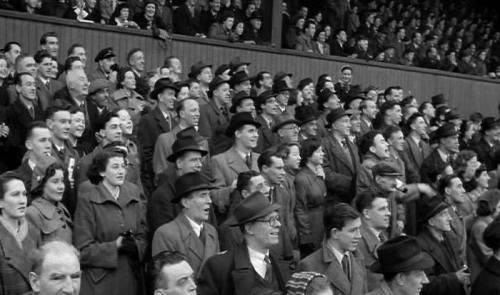 Dalymount Park in 1952. Credit - Jackie Jameson Irish Football Legend