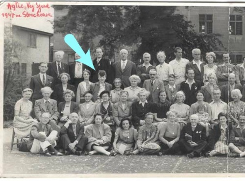 Moira Henry as one of the delegates at the 11th IVU World Vegetarian Congress 1947. Stonehouse, England. Credit - http://www.ivu.org