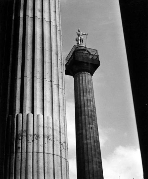 Nelson's Pillar on O'Connell Street.