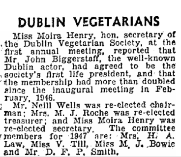 The Irish Press, 5 March 1947