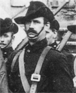 Jack White in ICA uniform, 1914.