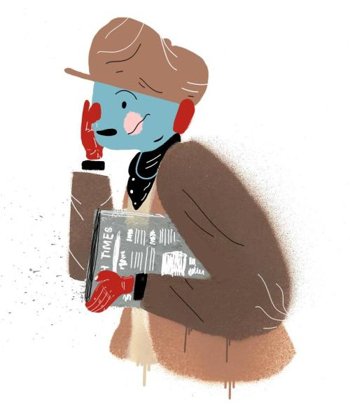 Dublin Newsboy illutration: Luke Fallon.