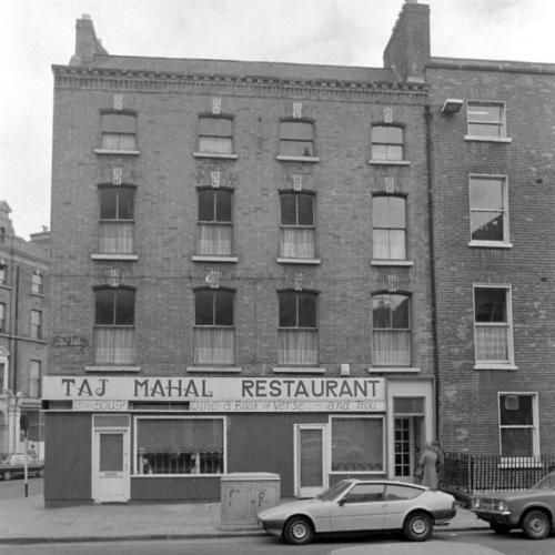 The Taj Mahal (Clare Street side) in 1979. Credit - Dublin City Photographic Collection