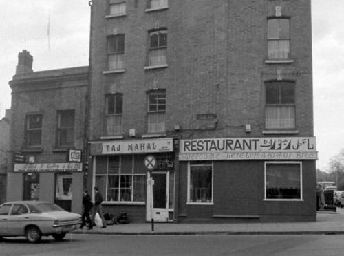 The Taj Mahal (Lincoln Place side) in 1979. Credit - Dublin City Photographic Collection