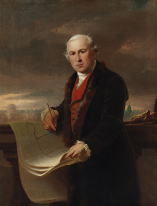 James Gandon, who one of Dublin's most important architects.