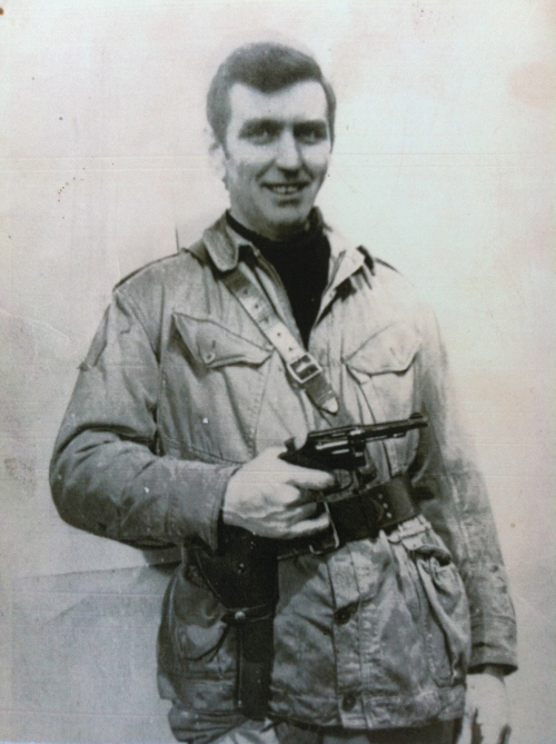 Liam Walsh in IRA uniform. Photograph belonged to the late Paddy Browne.