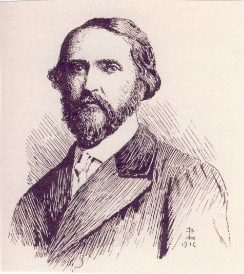 The celebrated writer Sheridan Le Fanu (1814-1873)