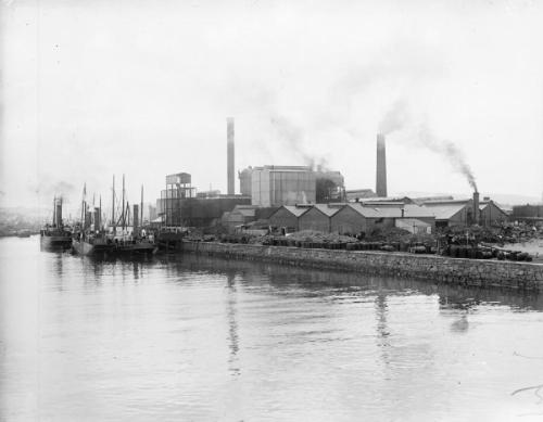 An external view of the National Shell Factory (Imperial War Museum)