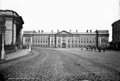 Trinity College Dublin (Robert French collection, NLI.)