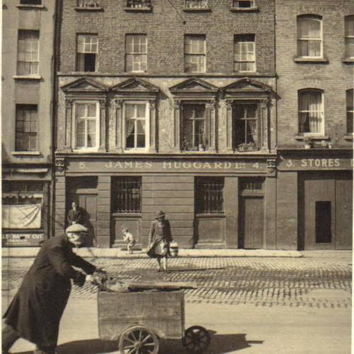 Cornmarket. (Image posted by 'Dublin Tenement LIFE')